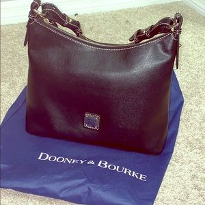 Dooney & Bourke Black Leather Shoulder Bag